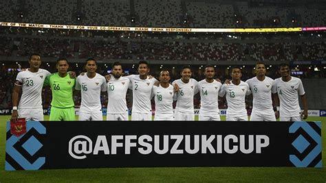 Piala Aff 2018 Susunan Pemain Timnas Indonesia Vs Timor