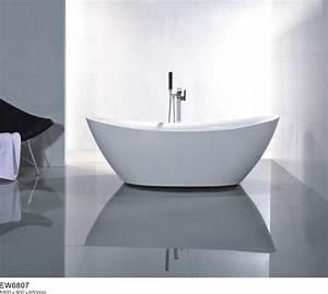 Acryl Badewanne Kaufen : freistehende badewanne acryl bellagio wei 180 x 86 cm inkl standarmatur 8028 badewelt ~ Michelbontemps.com Haus und Dekorationen