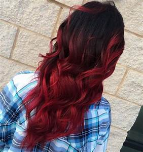 Balayage Rot Braun : 60 best ombre hair color ideas for blond brown red and black hair ~ Frokenaadalensverden.com Haus und Dekorationen
