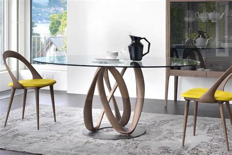 tavolo cristallo calligaris calligaris tavolo rotondo tavolo da pranzo moderno in