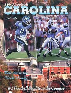 Photo  1998 Unc Football Media Guide