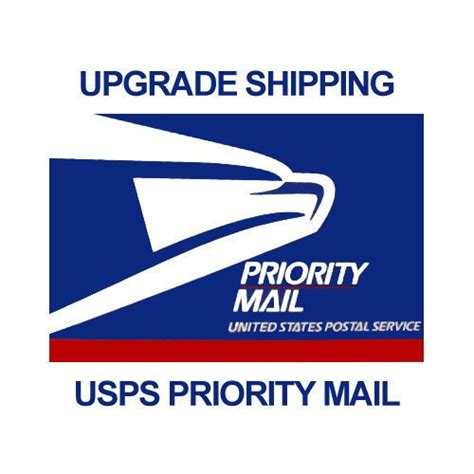 Usps Decorative Mailers by Usps Priority Mail Shipping Upgrade By Gumballsonline On Etsy