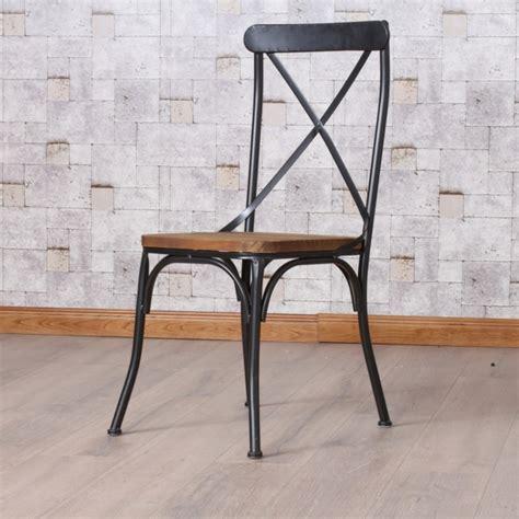 chaise industrielle metal chaises industrielles designs vintage et modernes