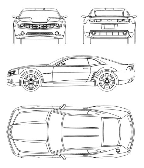 Chevrolet Camaro Blueprint Cars Review Release