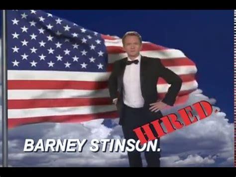 barney stinson resume awesome quality