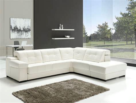 Sofa Blanco Fabulous Sof De Piel Blanco With Sofa Blanco