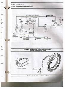 John Deere 318 With Honda Engine Not Charging