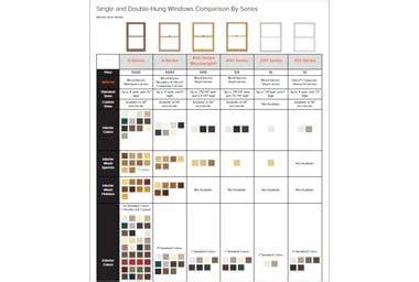andersen window color chart  trend home design  trend home design