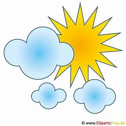 Wolken Clipart Clip Gratis Sonne Cliparts Kostenlos