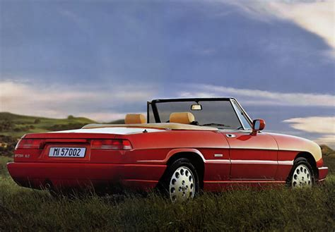 1990 Alfa Romeo Spider by Alfa Romeo Spider 115 1990 1993 Wallpapers
