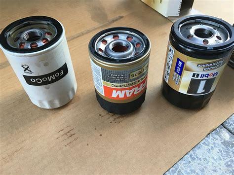 oil filter comparison  pics  ecoboost ford