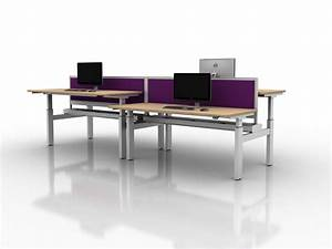 Move Height Adjustable Office Desk Manual Crank And