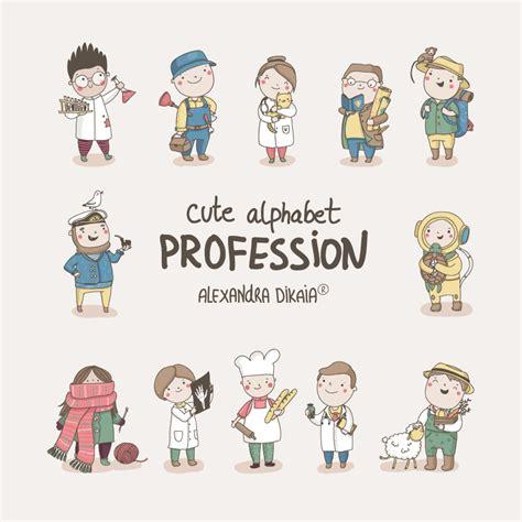 alphabet profession  behance