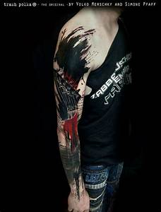 Trash polka tattoo | Tattoos | Pinterest | Trash polka ...