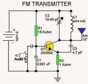 Circuit Of Fm Transmitter