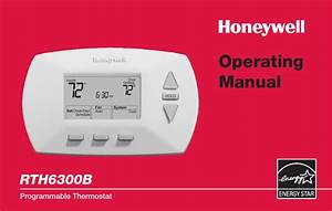 Honeywell 5 2 Day Deluxe Rth6300b Users Manual 69 1723