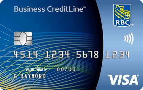 visa creditline  small business rbc royal bank