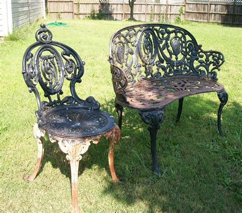 tools are for how to paint cast iron furniture