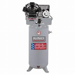 High Output 6 5 Peak Hp 60 Gallon Air Compressor King
