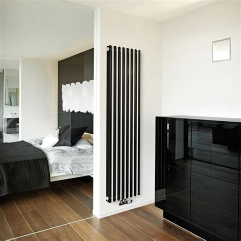modern interior decorating  colorful radiators