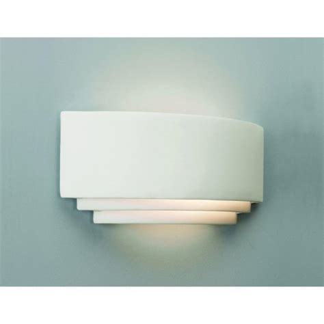 white plaster wall washer wall light that can be painted