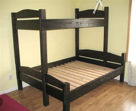 bunk bed based  simple bed plans