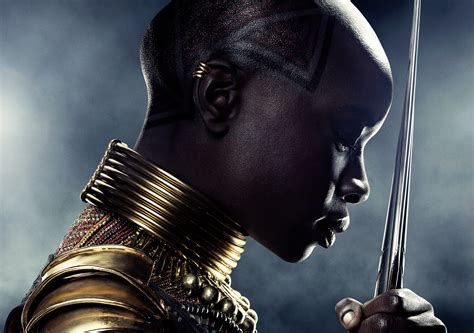 1920x1080 Danai Gurira In Black Panther Poster 5k Laptop
