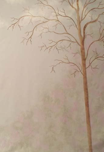 Large Tree Stencils For Walls