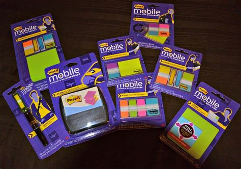 Postit Brand Mobile Collection  Attach And Go Products
