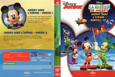 jaquette dvd de la maison de mickey dvd 16 cin 233 ma
