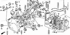 Honda Motorcycle 1996 Oem Parts Diagram For Wire Harness