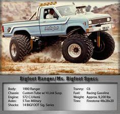1979 bigfoot monster truck 1000 images about bigfoot ranger ms bigfoot old on