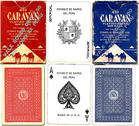 Caravan or mudhol hound, a type of dog breed; Playing Cards manufactured by The US Playing Card Co for the Estanco de Naipes del Peru - The ...