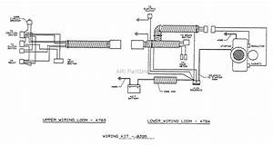 Dixon Ztr 5421  1995  Parts Diagram For Wiring Assembly