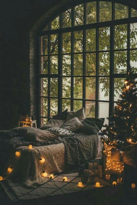 super cozy bedroom  romantic christmas