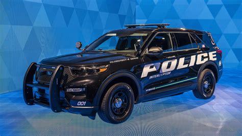 ford police interceptor utility hybrid detroit
