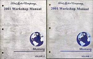 2001 Ford Mustang Wiring Diagram Manual Original