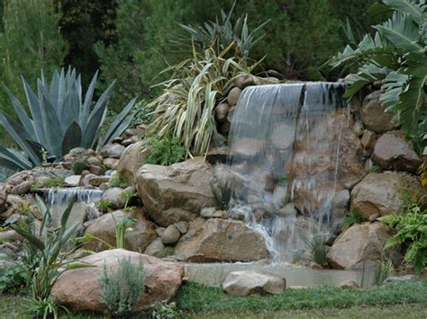 modern garden waterfall backyard waterfalls modern design house design and office chsbahrain com