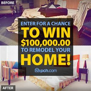 Win A Home Makeover Sweepstakes! Home Remodel Contest ...