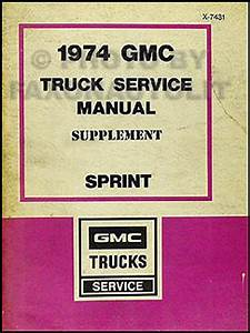 1974 Chevy El Camino Gmc Sprint Foldout Wiring Diagram