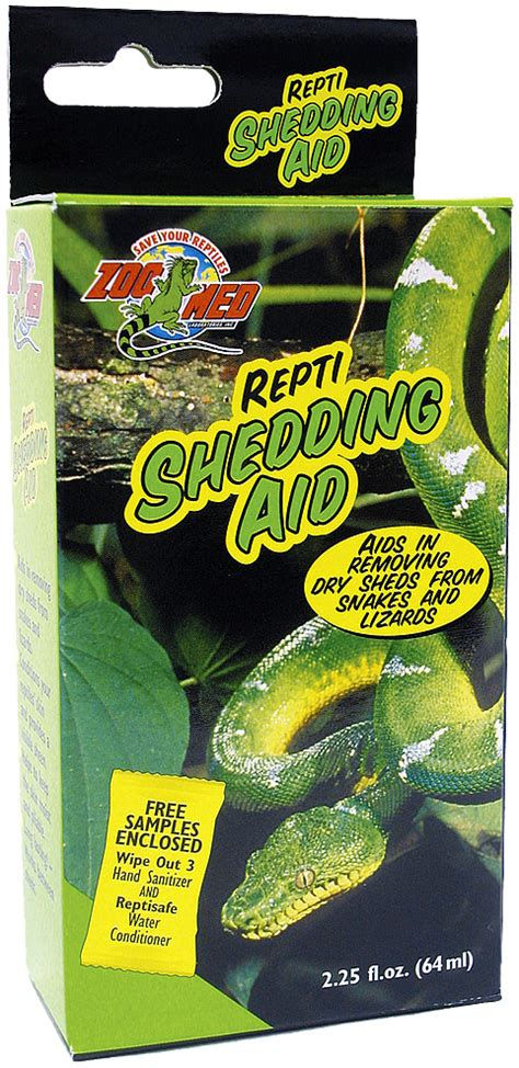 zoo med repti shedding aid 64ml reptile centre