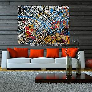 2016 NEW100% Hand painted Wall Art high quality abstract ...