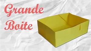 Comment Faire Une Boite En Origami : origami grande boite en papier ~ Dallasstarsshop.com Idées de Décoration