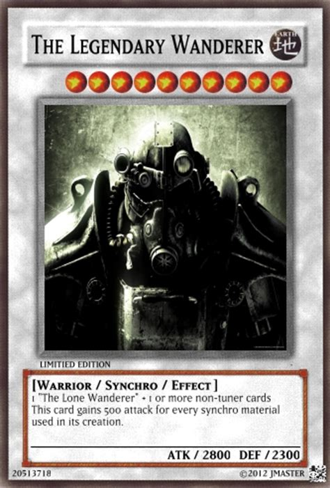 fallout  cards casual card design yugioh card maker forum