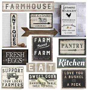 farmhouse sign farmers market sign antiques sign milk With kitchen colors with white cabinets with free christmas wall art printables