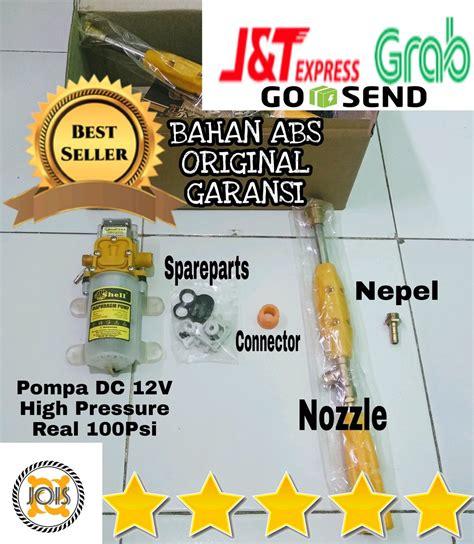 Alat Cuci Motor Hemat Air jual paket alat cuci mini portable untuk motor ac mobil