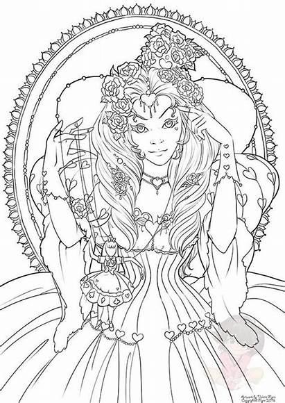 Coloring Queen Digital February