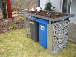 Müllbox Selber Bauen : ber ideen zu m lltonnenbox auf pinterest ~ Lizthompson.info Haus und Dekorationen