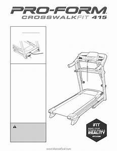Proform Crosswalk Fit 415 Treadmill