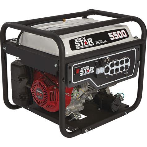 Generator Tool by Northstar Portable Generator 5 500 Surge Watts 4 500